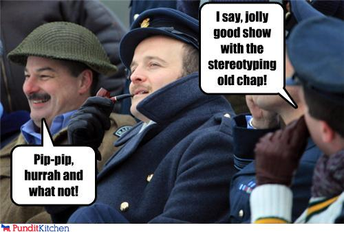 political pictures - Pip-pip, hurrah and what not!