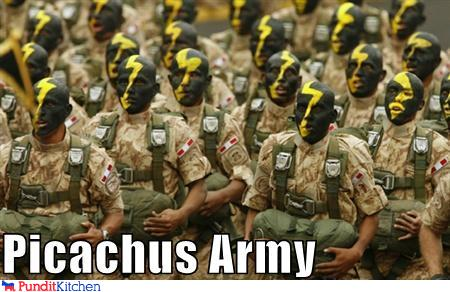 Picachus Army