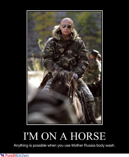 political pictures - I'M ON A HORSE