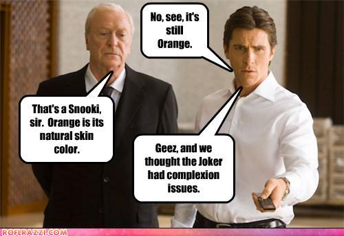 funny celebrity pictures - No, see, it's still Orange.