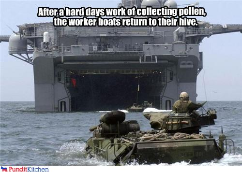 political pictures - Worker Boats: Backbone Of The Colony