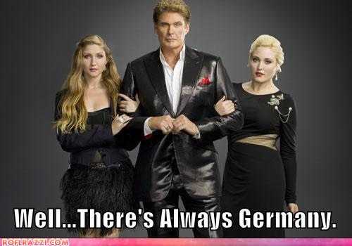 funny celebrity pictures - Well...There's Always Germany.