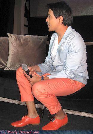 fashion fail - John, Go Change Your Shoes