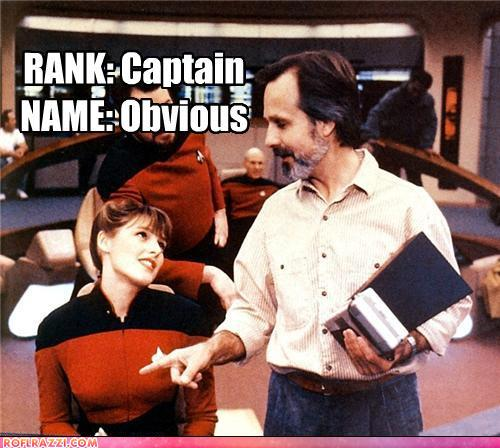 funny celebrity pictures - New Starship commander in training...
