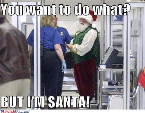 political pictures - You want to do what?  BUT I'M SANTA!