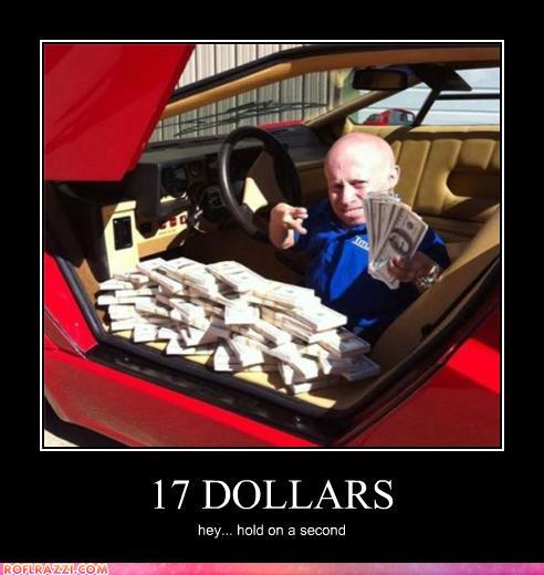 funny celebrity pictures - 17 DOLLARS