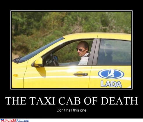 political pictures - THE TAXI CAB OF DEATH