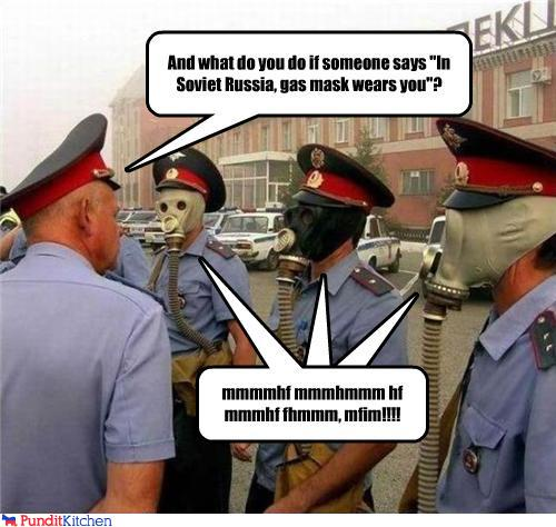 political pictures - In Soviet Russia...
