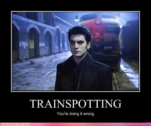 funny celebrity pictures - TRAINSPOTTING