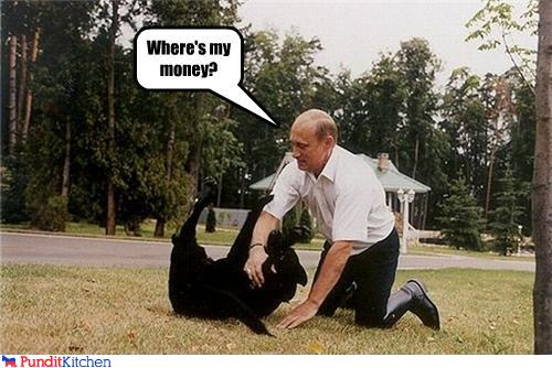 political pictures - Where's my money?