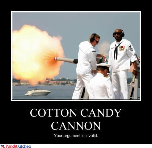 political pictures - COTTON CANDY CANNON