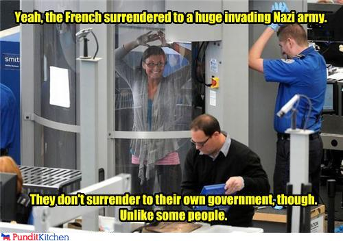 political pictures - Yeah, the French surrendered to a huge invading Nazi army.
