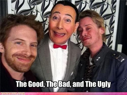 funny celebrity pictures - The Good, The Bad, and The Ugly