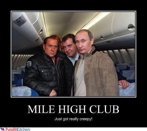 political pictures - MILE HIGH CLUB