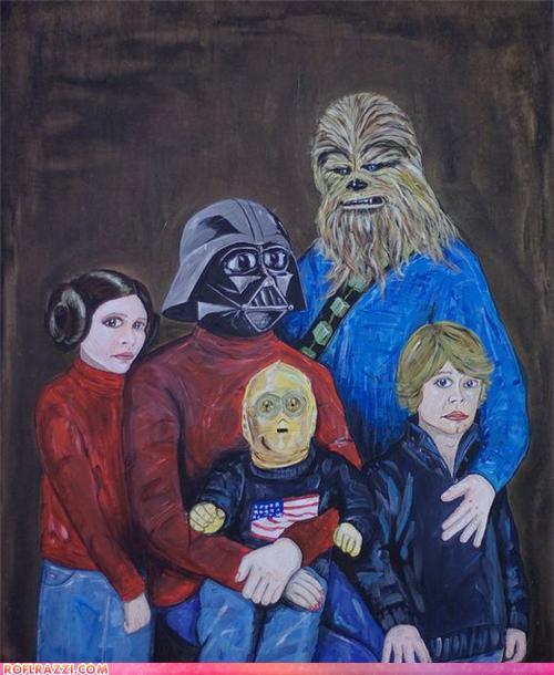 Star Wars Family Portraits