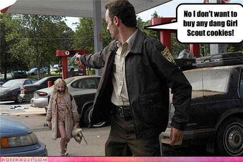 funny celebrity pictures - No I don't want to buy any dang Girl Scout cookies!