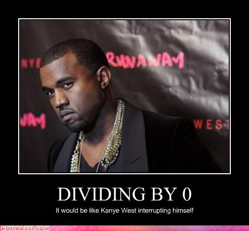 funny celebrity pictures - DIVIDING BY 0