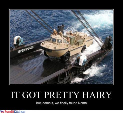 political pictures - IT GOT PRETTY HAIRY