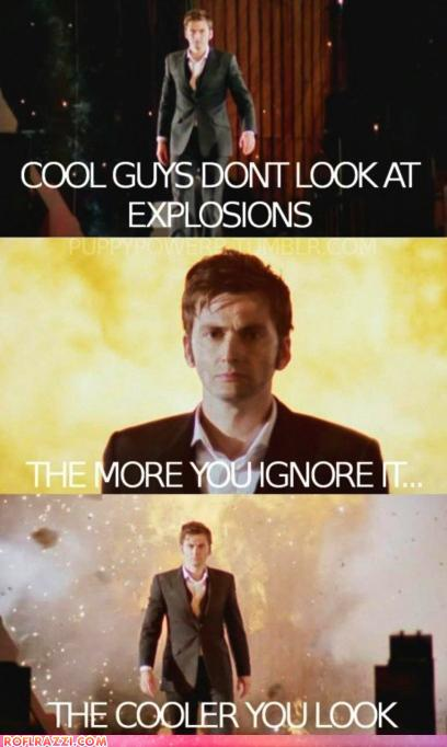 Cool Guys Don't Look At Explosions - RandomOverload