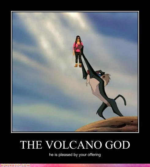 The Volcano God Randomoverload