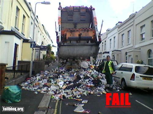 Garbage Truck Fail Randomoverload