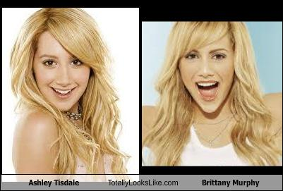 Ashley Tisdale Totally Looks Like Brittany Murphy