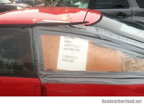 There i fixed it sympathy is the best theft deterrent for Where can i get my window motor fixed