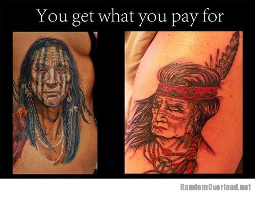 Ugliest Tattoos: This is why you don\'t go for the discount tattoo ...