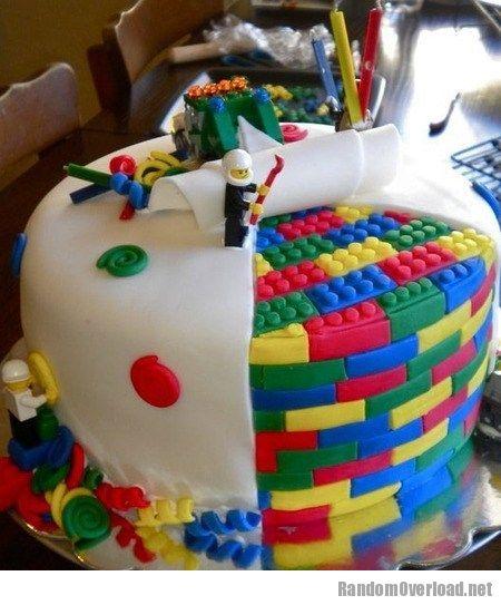 Lego Cake Win Randomoverload