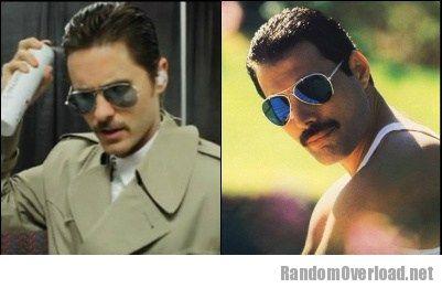 Jared Leto Totally Looks Like Freddie Mercury Randomoverload