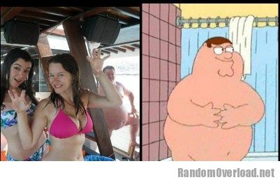 Are peter griffin gets naked