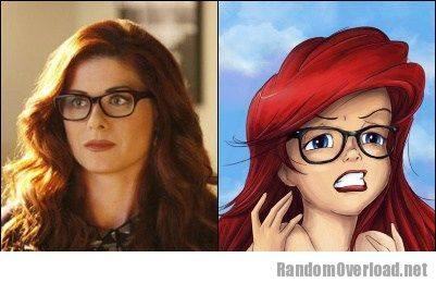 Debra Messing in Smash Totally Looks Like Hipster Ariel ...