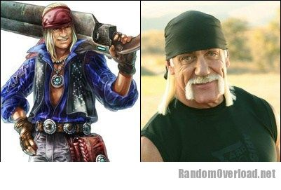 Dickson Xenoblade Totally Looks Like Hulk Hogan