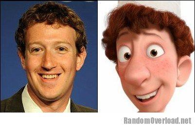Mark Zuckerberg Totally Looks Like Linguini Ratatouille