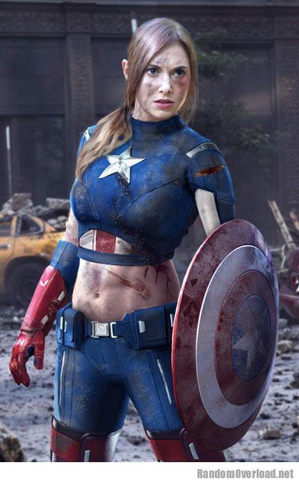 funny-Avengers-Captain-America-girl
