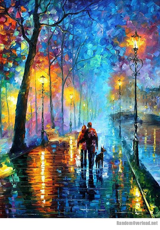 One of the most amazing oil paintings by artist leonid for Beautiful painting images