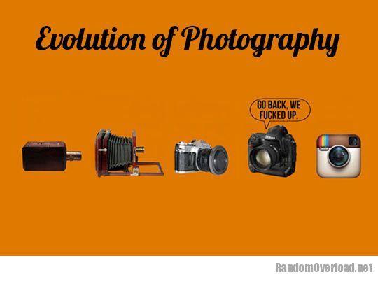 Evolution Of Photography Randomoverload