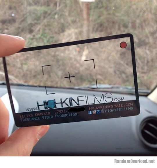 A clever business card RandomOverload