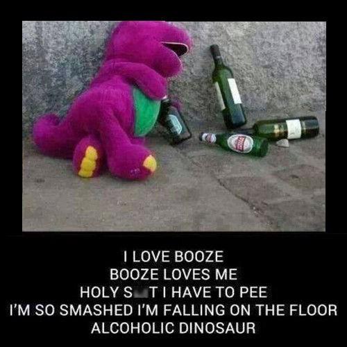 Poor Drunken Barney Randomoverload