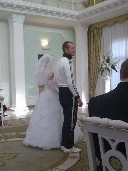 i thought the wedding was casual randomoverload