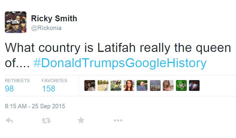 twitter,list,donald trumps google history,donald trump,trump,election 2016,politics
