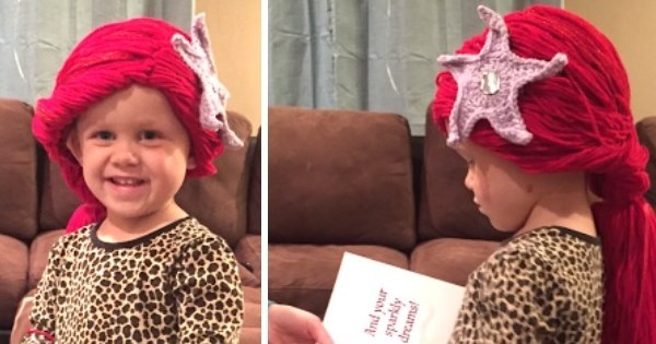 Feel Good of The Day: This Mom Created a Group to Crochet Disney Wigs For Young Cancer Patients