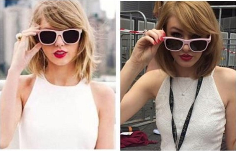 taylor swift doppleganger Taylor Swift Met Her Australian Lookalike
