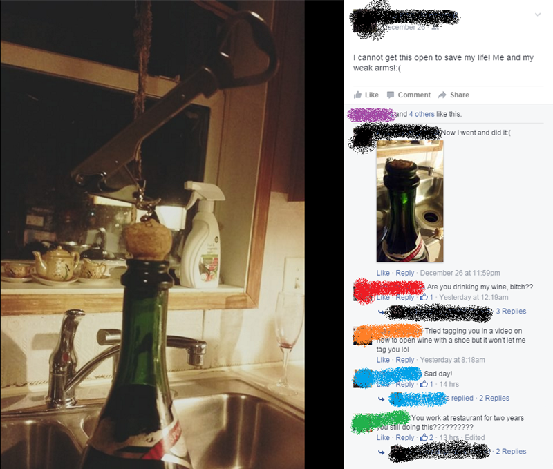 champagne,FAIL,facebook,cork,wine