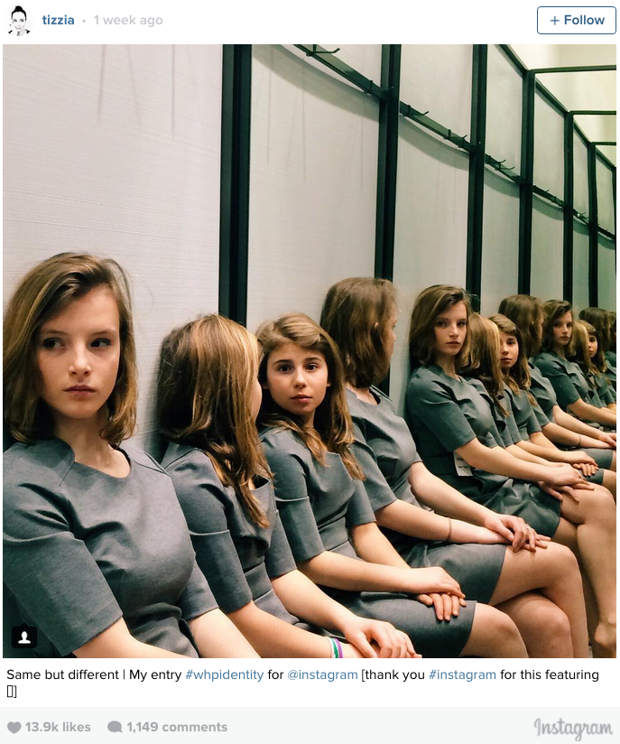 win optical illusion photo of girls in mirror has internet torn with two answers