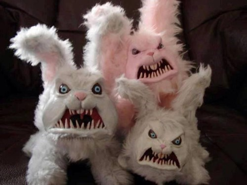 easter,scary,FAIL,list,bunny