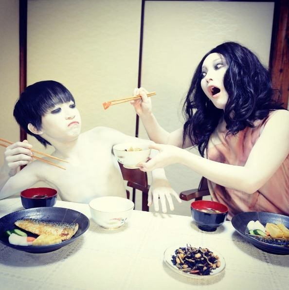 image movies instagram The Creepy Lady and Kid From 'The Grudge' Have an Amazing Instagram Account