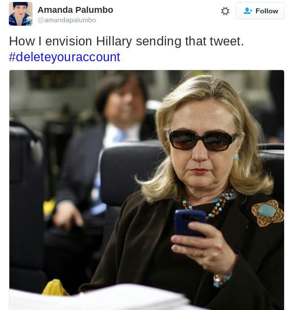 twitter,list,donald trump,Hillary Clinton,reactions