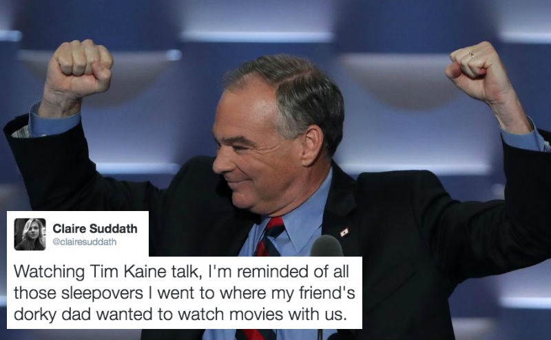 democrats,twitter,list,dad jokes,parenting,Tim Kaine,politics