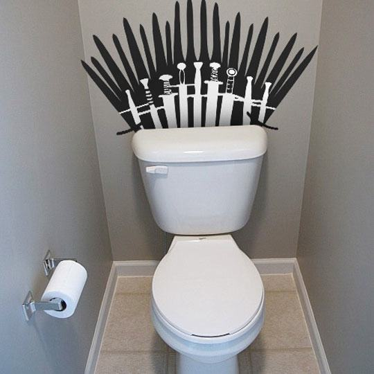 Game of Thrones,clever,toilet